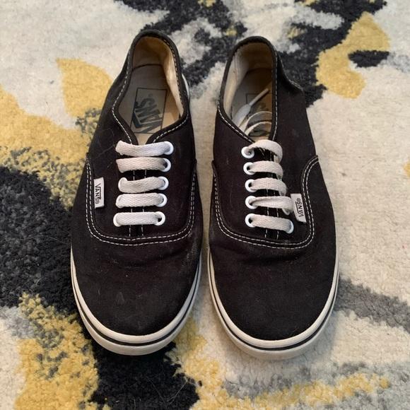 Vans Shoes | Black Womens Size 6 Mens